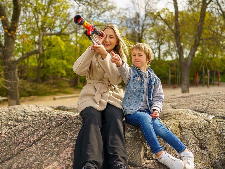 Tips på sköna rutiner från enbarnvakt