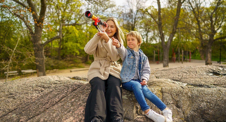 Hämtning på förskola - nannys och barnpassning
